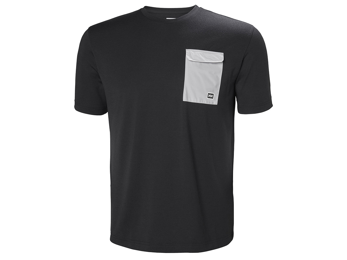 Helly Hansen LOMMA T-SHIRT - EBONY - XXL (62857_980-2XL )