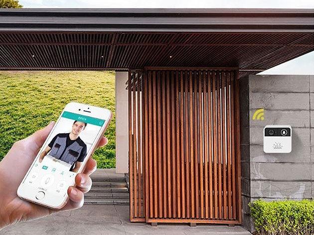 Okos csengő, vezeték nélküli wifi-s kaputelefon, mely okostelefonodról vezérelhető és megfigyelheted otthonodat a távolból