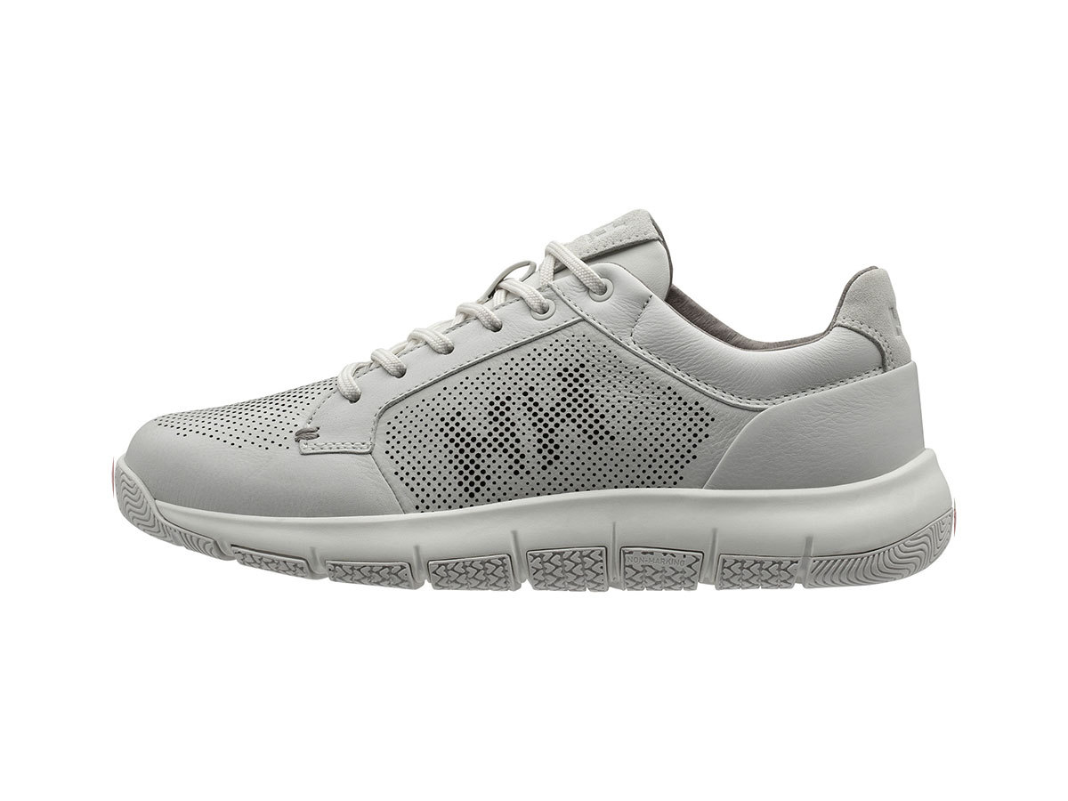 Helly Hansen W SKAGEN PIER LEATHER SHOE - OFF WHITE / ALUMINUM / OF - EU 36/US 5.5 (11471_011-5.5F )