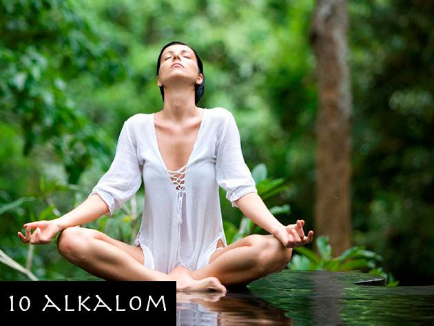 Satyananda jógaóra (10 alkalmas bérlet)