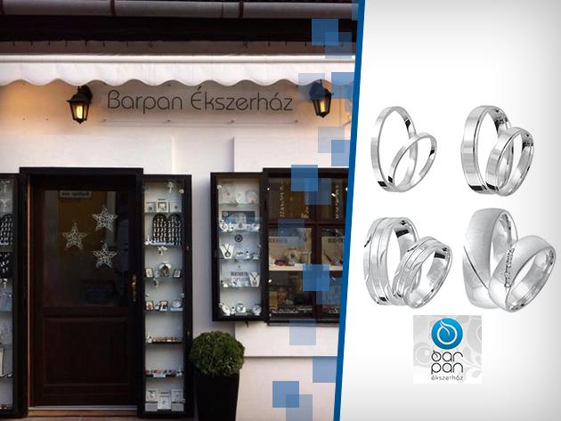 Valentin napi ezüst karikagyűrű párban eljegyzésre, vagy a szerelem zálogaként 3.690 Ft-tól!