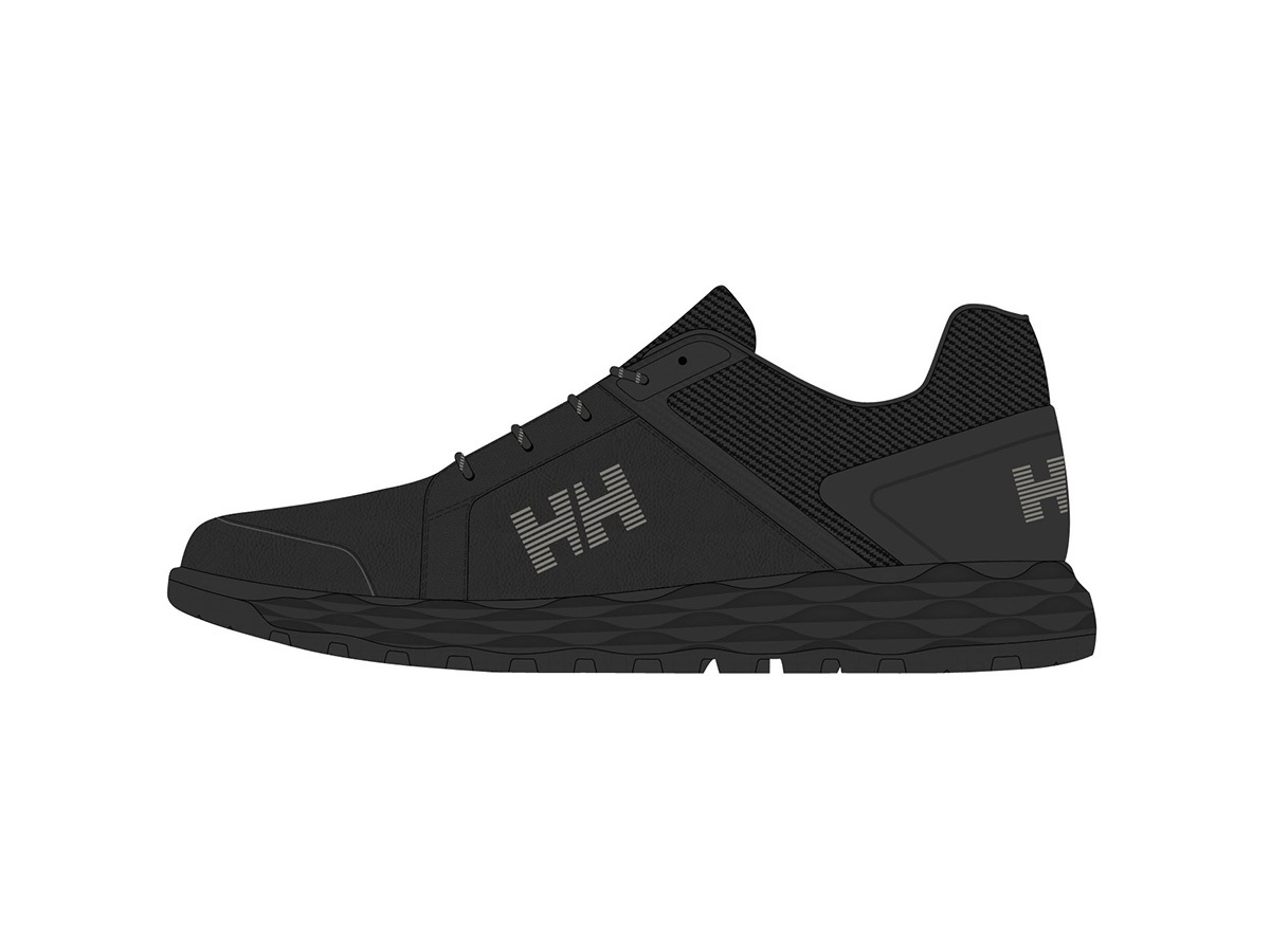 Helly Hansen GAMBIER LC - JET BLACK / JET BLACK / O - EU 46/US 11.5 (11436_991-11.5 )