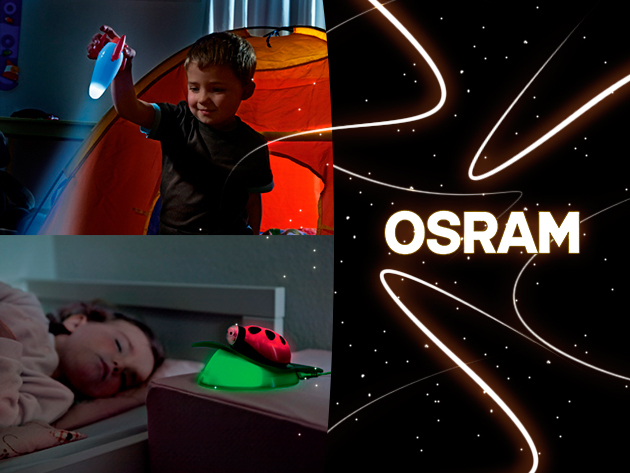 Osram háromfunkciós gyermeklámpák 7.788 Ft helyett 4.299 Ft-ért!