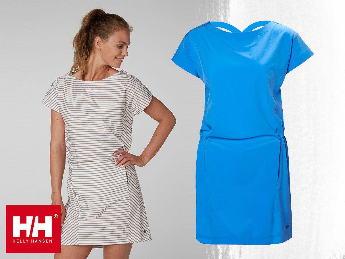 Helly Hansen W SIREN DRESS - könnyű nyári ruha, puha és gyorsan száradó technikai anyagból (XS-XL)