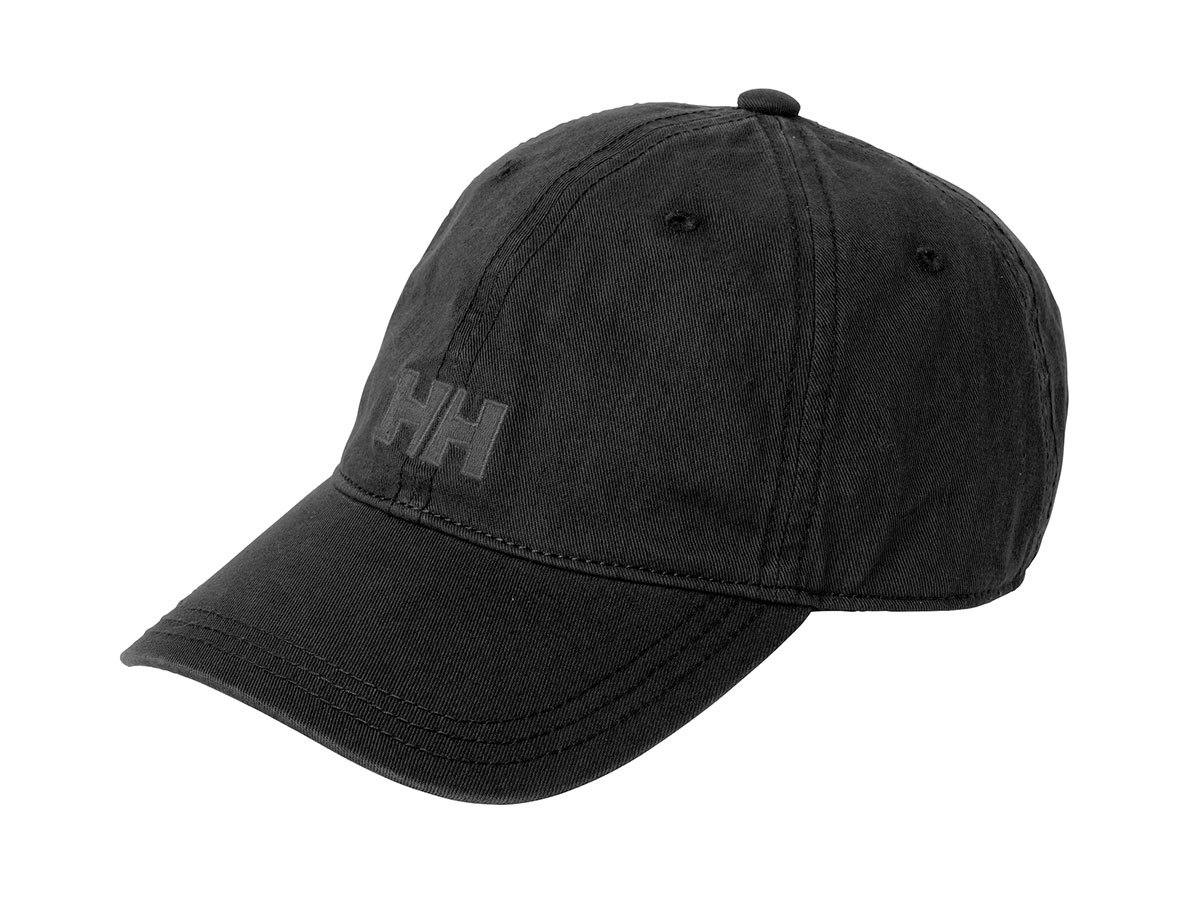 Helly Hansen LOGO CAP - BLACK - STD (38791_990-STD )