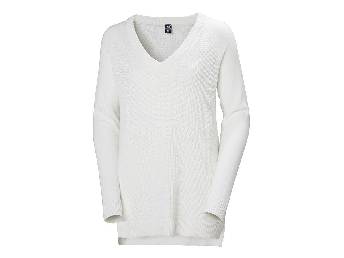 Helly Hansen W FJORD SWEATER - OFFWHITE - S (34117_011-S )