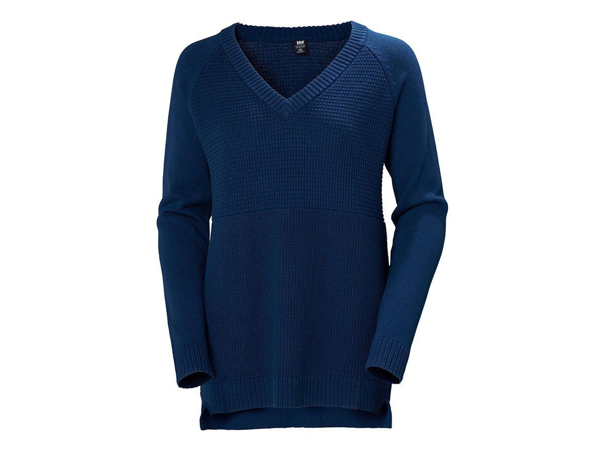Helly Hansen W FJORD SWEATER - CATALINA BLUE - M (34117_541-M )