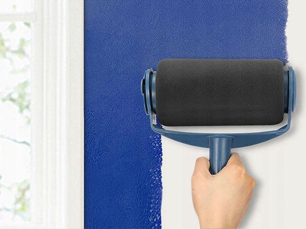 Festőhenger festékadagoló tartállyal, akár szettben hasznos kiegészítőkkel - Felejtsd el a lecsöpögő festéket és a vödröt!
