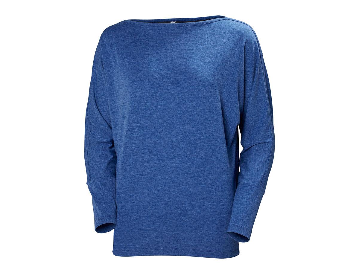 Helly Hansen W THALIA LS-SHIRT - OLYMPIAN BLUE MELANGE - XL (33945_563-XL )
