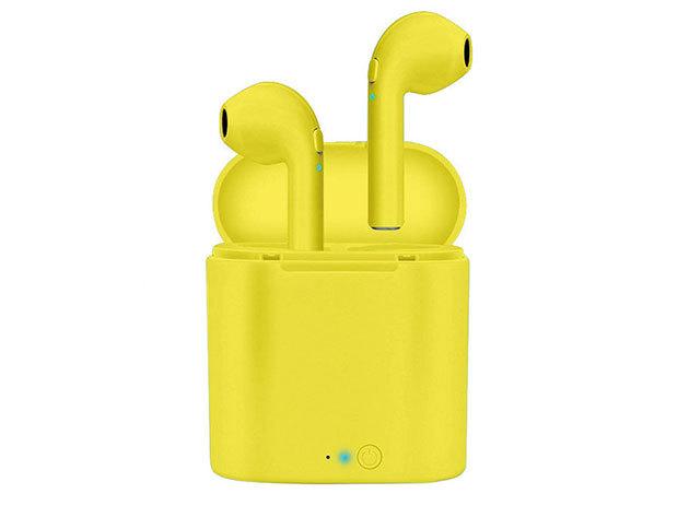 i7S sárga fülhallgató