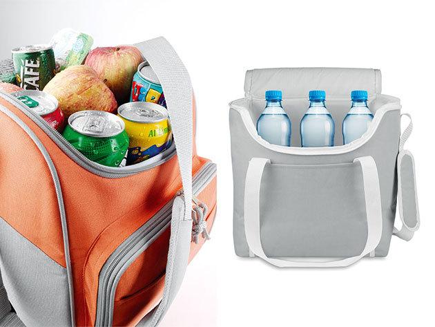 Hűtőtáska - vállra akasztható, cipzáros, oldalzsebes hűtőtáskák több színben - tartsd frissen az élelmiszereket a legnagyobb kánikulában