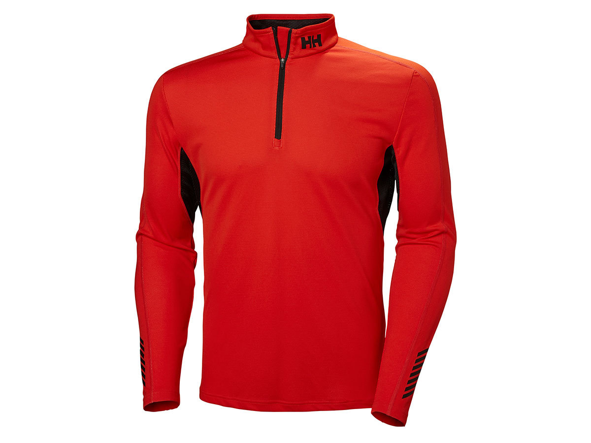 Helly Hansen HH LIFA ACTIVE MESH 1/2 ZIP - CHERRY TOMATO - XXL (49318_147-2XL )