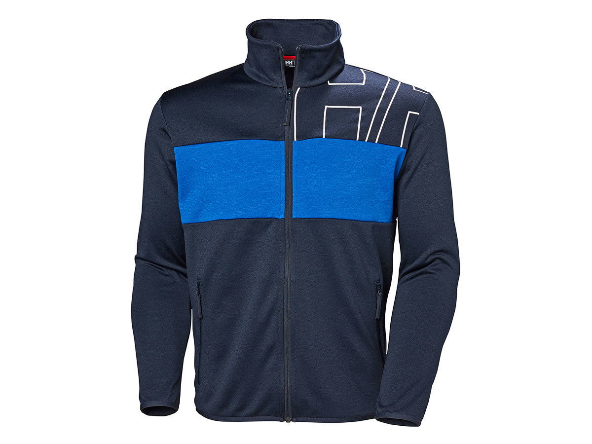 Helly Hansen COLORPLAY MIDLAYER JACKET - NAVY - S (51839_597-S )