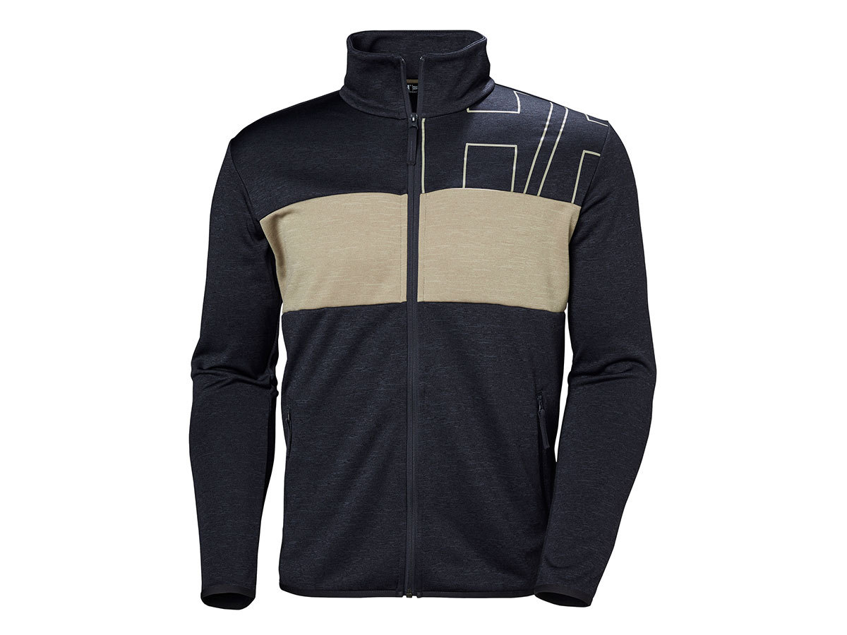 Helly Hansen COLORPLAY MIDLAYER JACKET - GRAPHITE BLUE - S (51839_994-S )