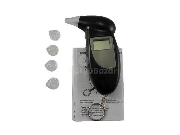 Digitális alkoholszonda kulcstartóval AS-002