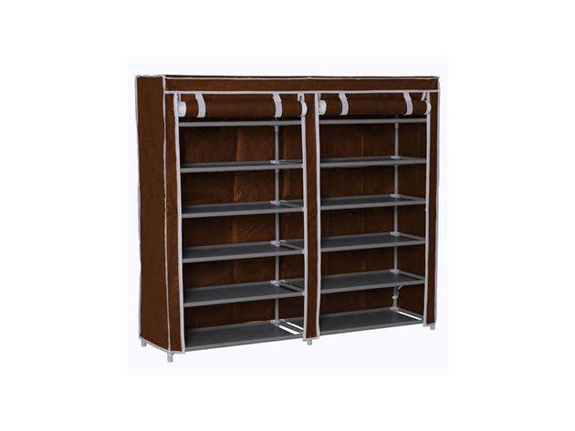 Mobil cipőtároló szekrény - HOP1000975-1 - barna