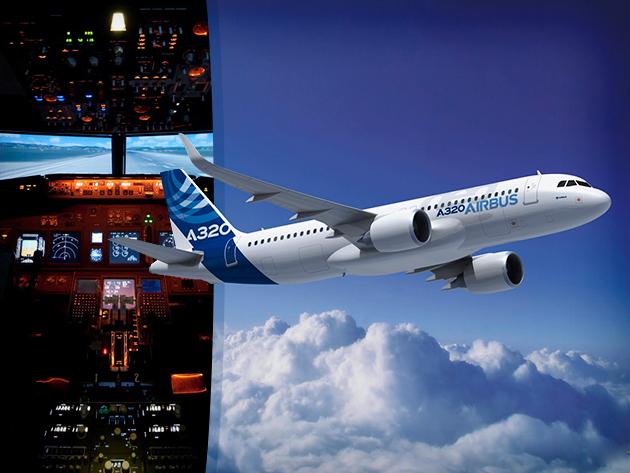 Repülő szimulátoros élményrepülés 25.000 Ft helyett 8.900 Ft-ért!