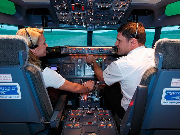 Repülőszimulátoros élményrepülés (Boeing 737-800NG, vagy Airbus A320)