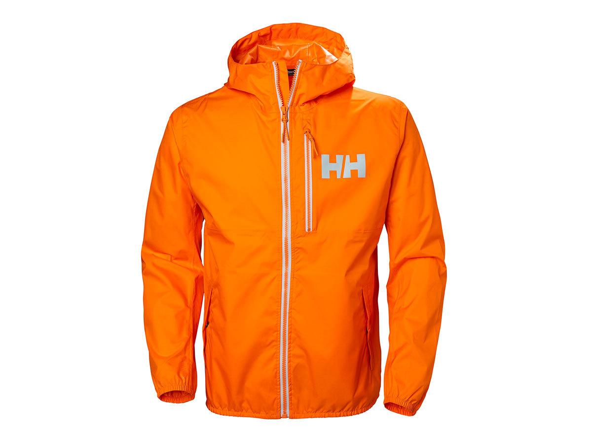 Helly Hansen BELFAST RAIN JACKET - BLAZE ORANGE - L (53271_282-L )