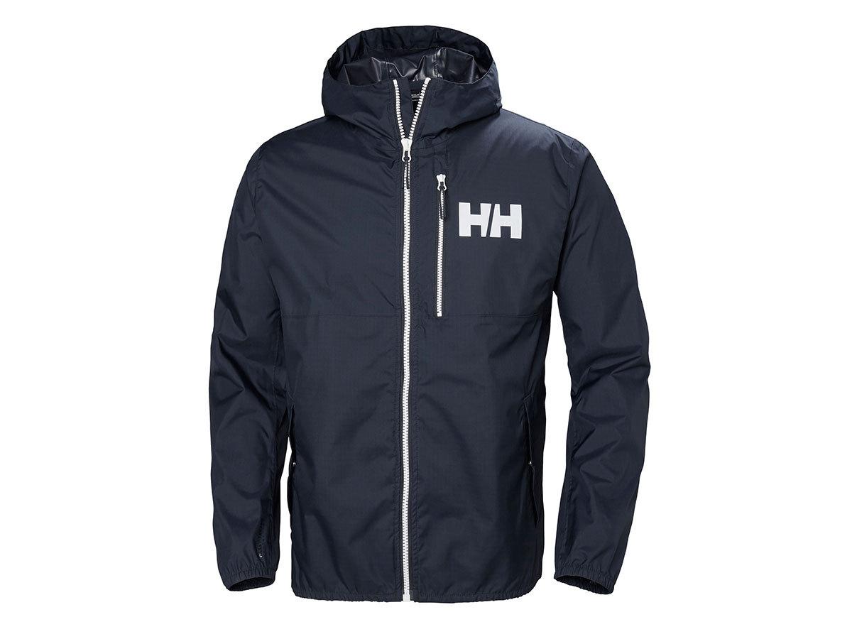 Helly Hansen BELFAST RAIN JACKET - NAVY - L (53271_597-L )