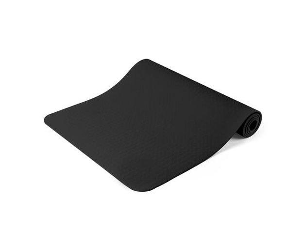 Jóga matrac, ajándék táskával 3 színben (fekete) HOP1000972-1