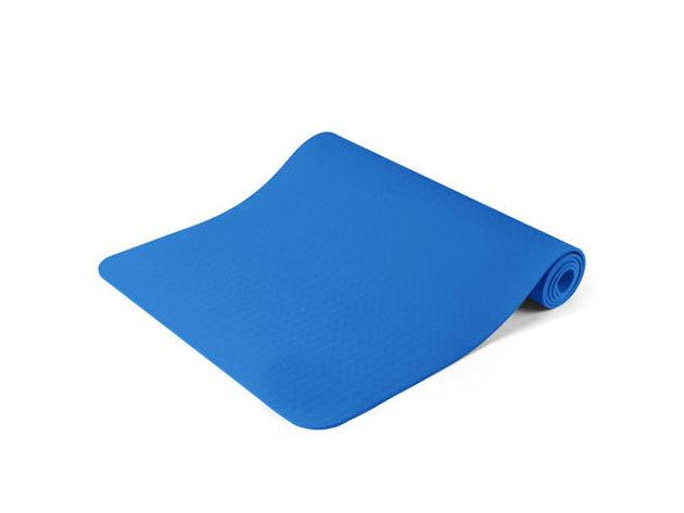 Jóga matrac, ajándék táskával 3 színben (kék) HOP1000972-2 - AZONNAL ÁTVEHETŐ
