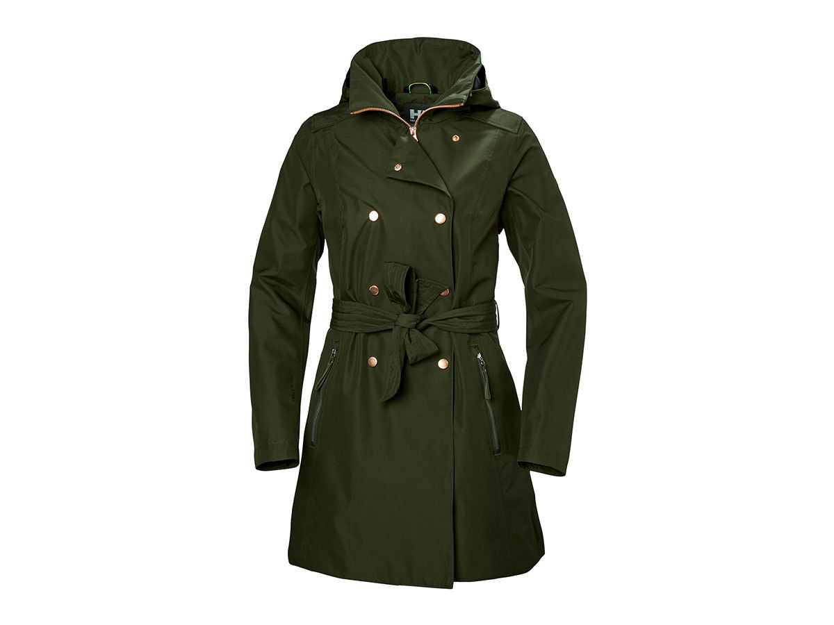 Helly Hansen W WELSEY II TRENCH - FOREST NIGHT - S (53247_469-S )