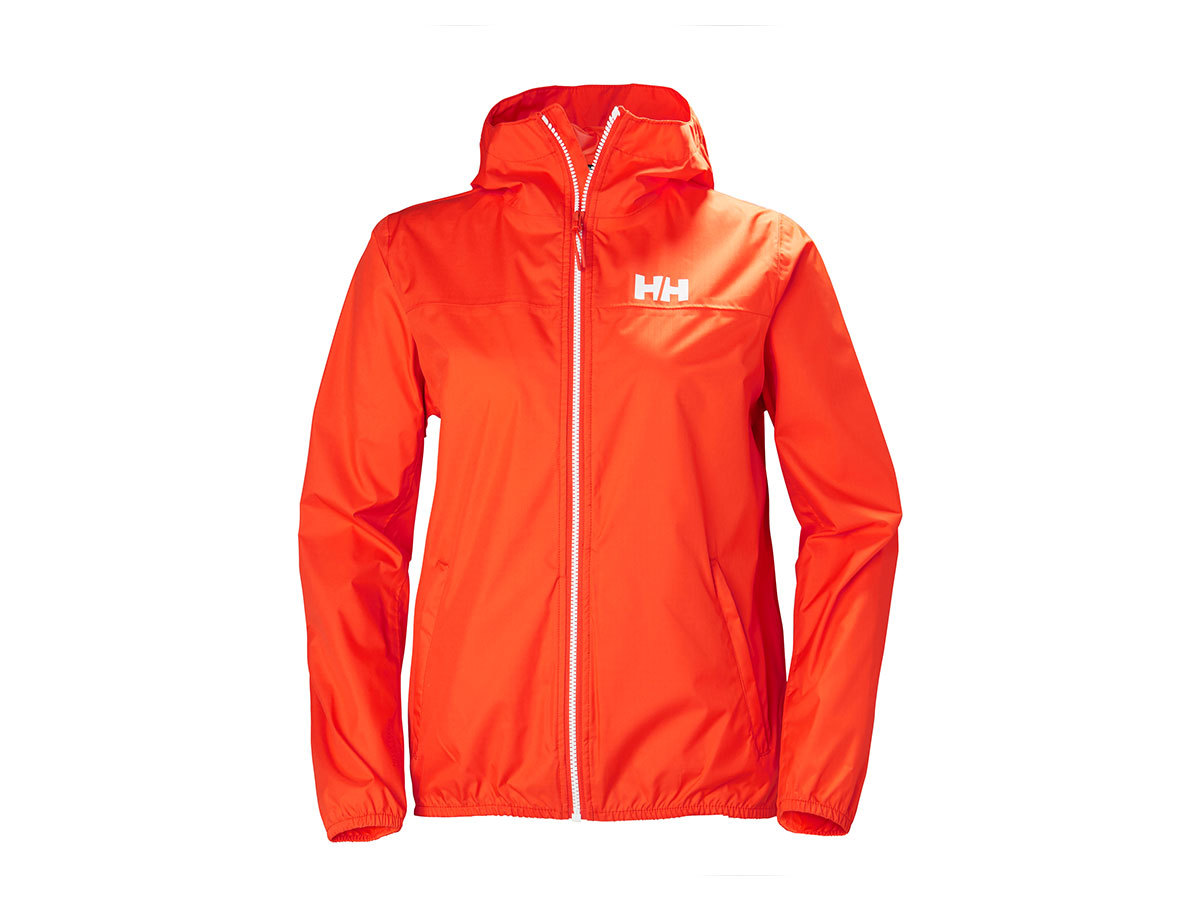Helly Hansen W BELFAST PACKABLE JACKET - CHERRY TOMATO - XS (53257_147-XS )