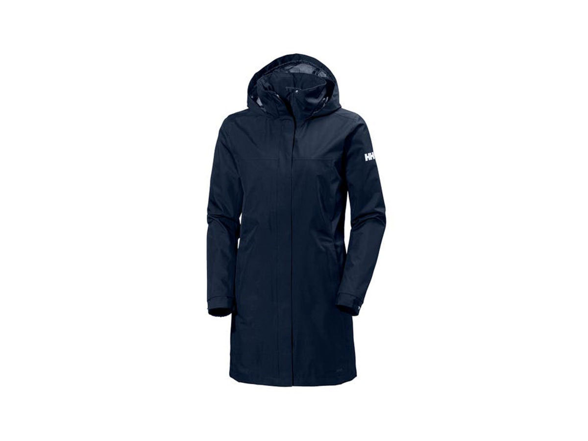 Helly Hansen W ADEN LONG COAT - EVENING BLUE - XS (62648_689-XS )