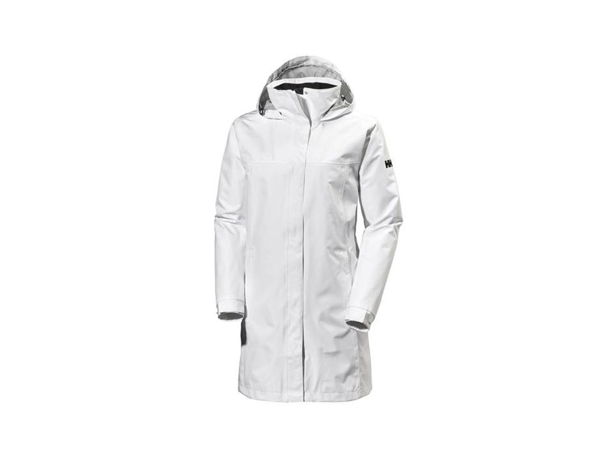 Helly Hansen W ADEN LONG COAT - WHITE - XXXXXL (62648_001-5XL )
