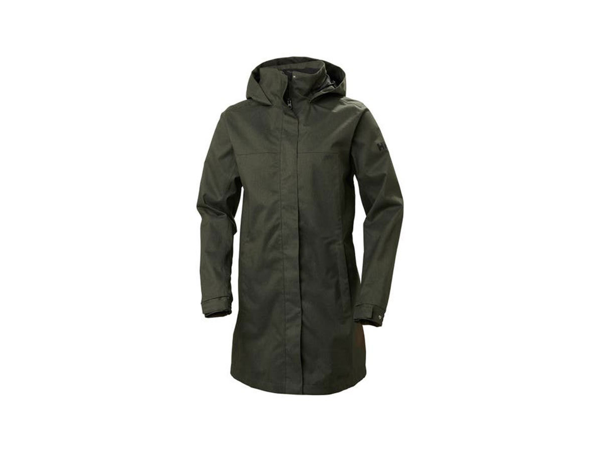 Helly Hansen W ADEN LONG COAT - BELUGA - M (62648_482-M )