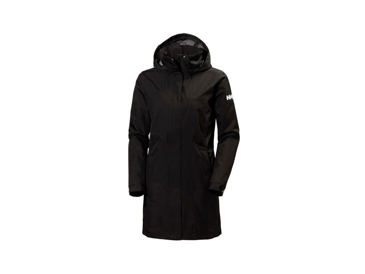 Helly Hansen W ADEN LONG COAT - BLACK - M (62648_990-M )