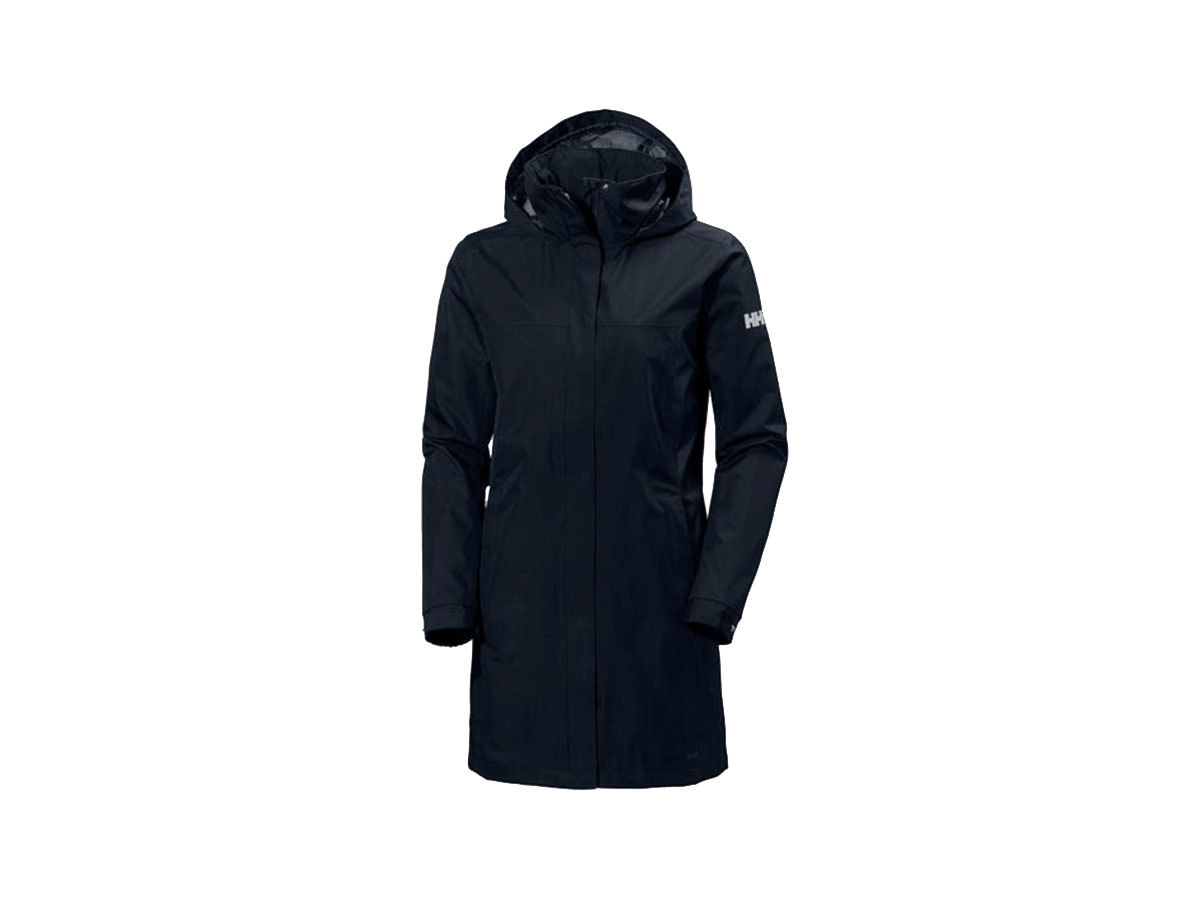 Helly Hansen W ADEN LONG COAT - NAVY - L (62648_597-L )