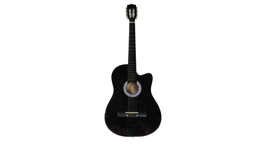 Akusztikus gitár szett kezdőknek - HOP1000982-1 fekete