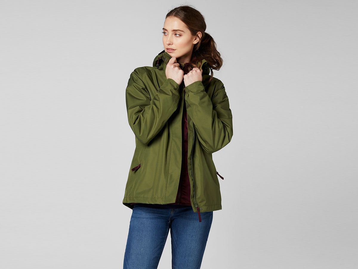 Helly Hansen W SQUAMISH 2.0 CIS JACKET - IVY GREEN - L (53206_491-L )