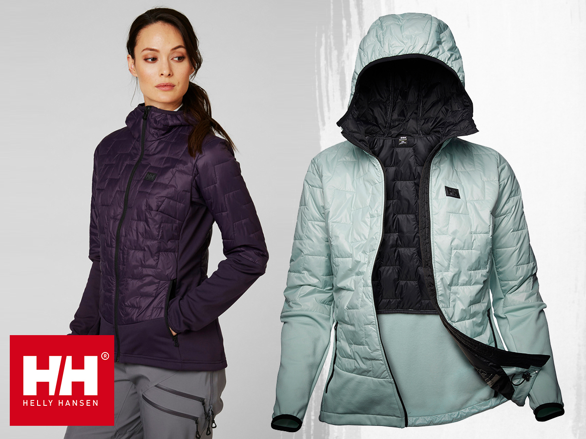 Helly Hansen W LIFALOFT HYBRID INSULATOR JACKET női dzseki extra könnyű, mégis meleg, víztaszító kialakítással