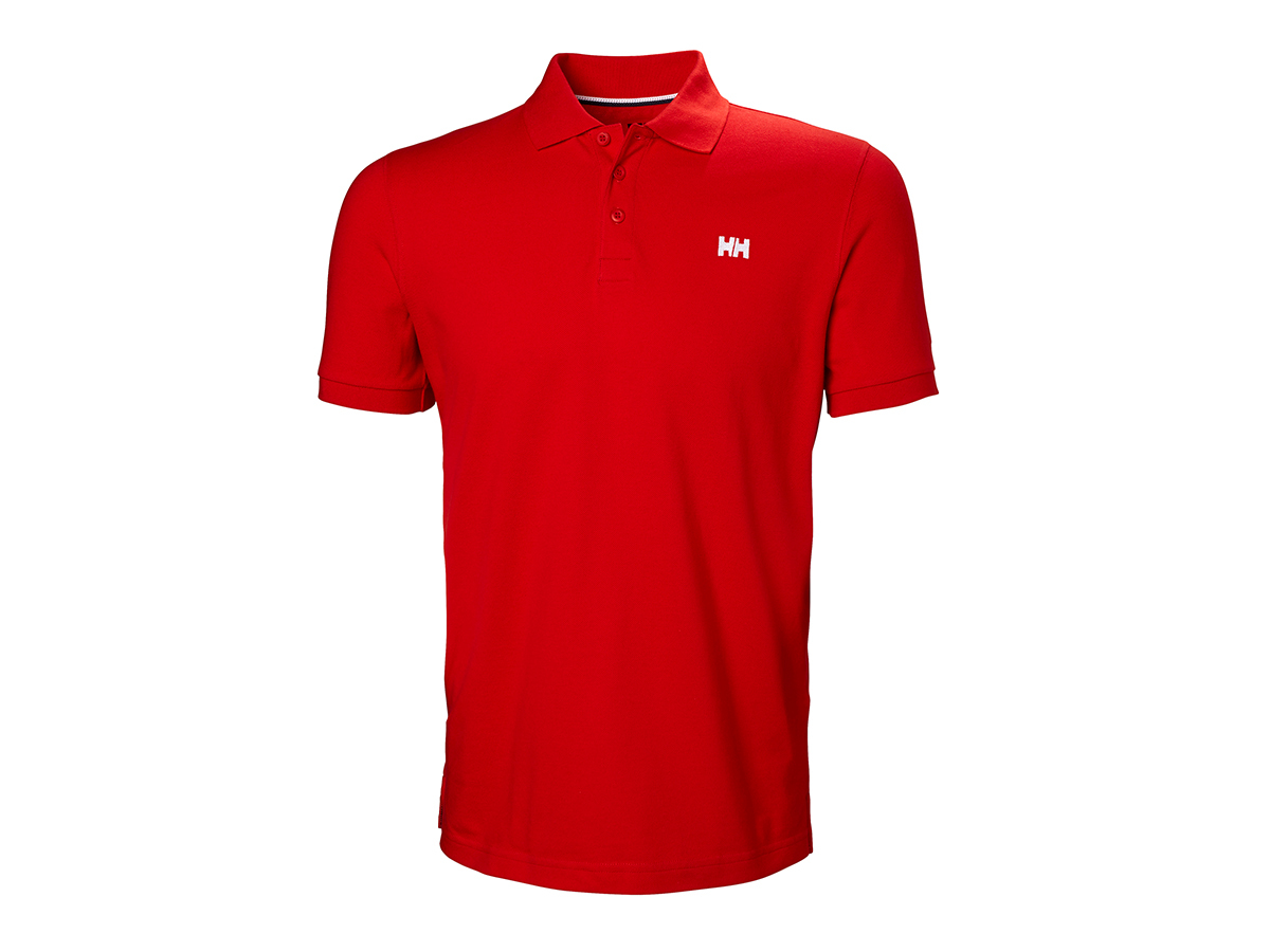 Helly Hansen TRANSAT POLO - ALERT RED - XL (33980_222-XL )
