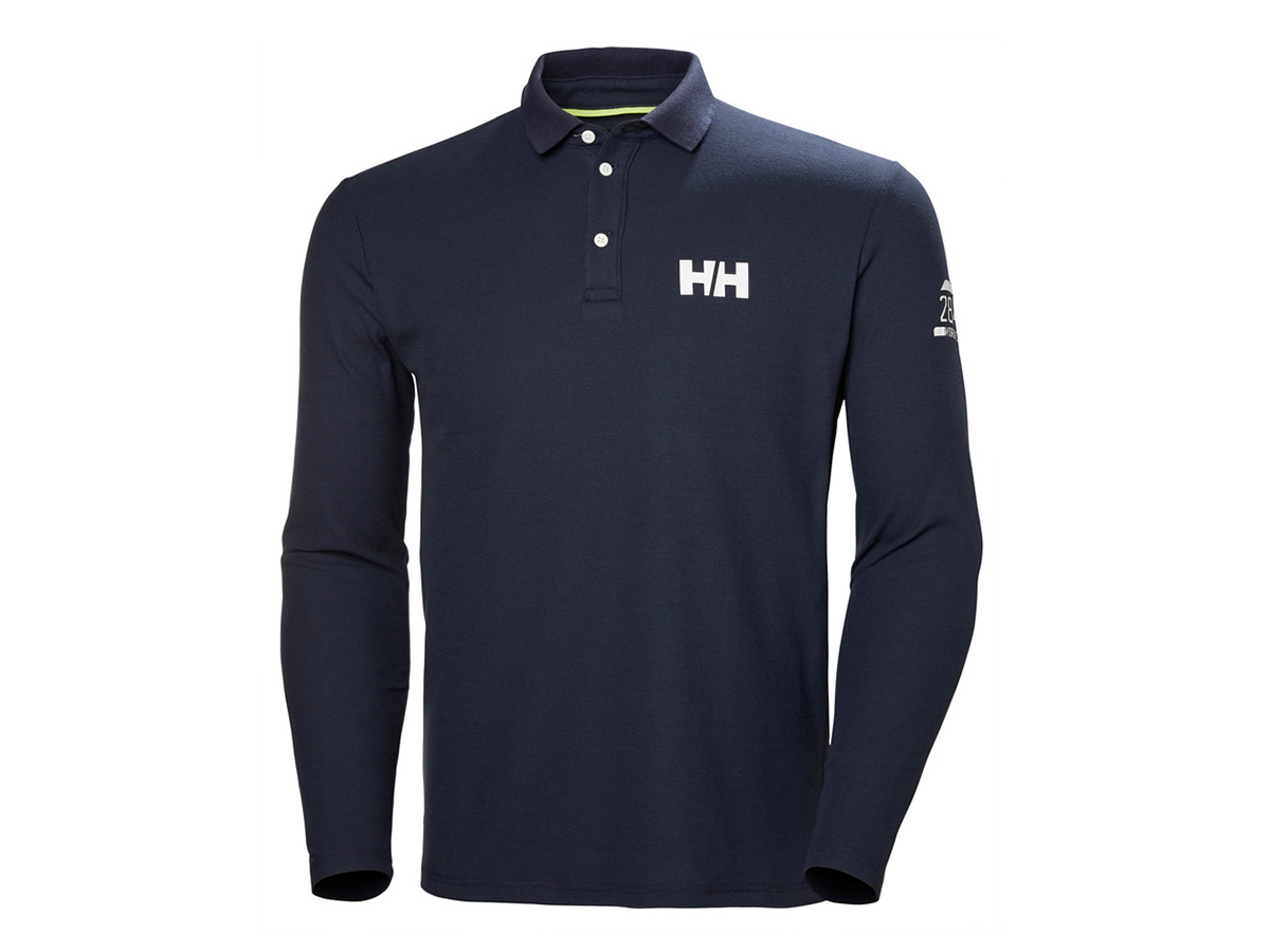 Helly Hansen HP SHORE LS POLO - NAVY - S (34123_597-S )