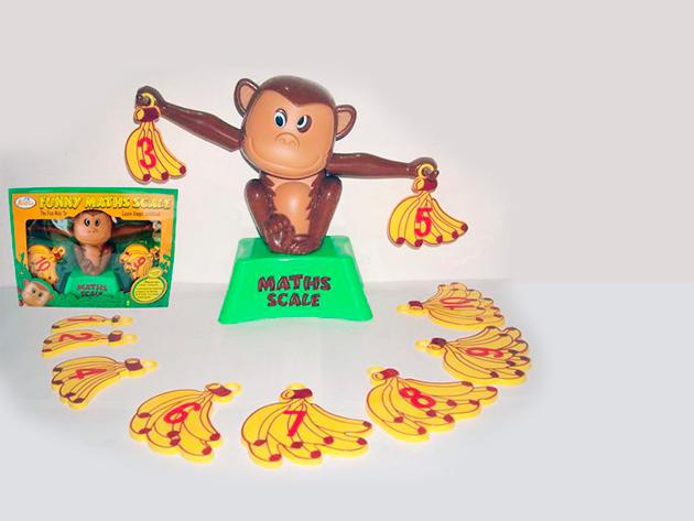 Számmérleg - Számolást tanító majom