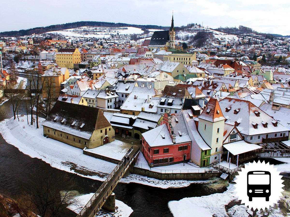 Dél-Csehország gyöngyszemei adventkor - buszos utazás 1 éjszaka szállással, reggelivel /fő