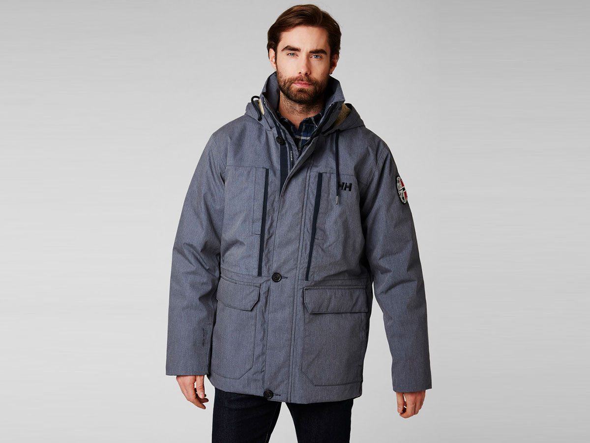 Helly Hansen 1877 PARKA - NAVY - XL (53333_597-XL )