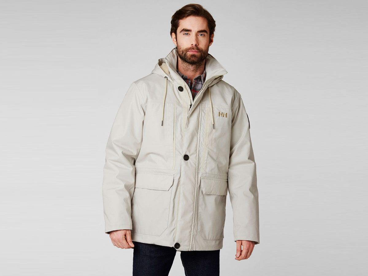 Helly Hansen 1877 PARKA - CASTLE WALL - S (53333_723-S )