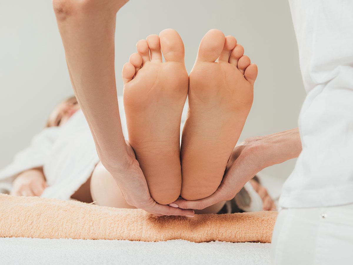 30 perces gyógyító, frissítő, nyugtató talpmasszázs