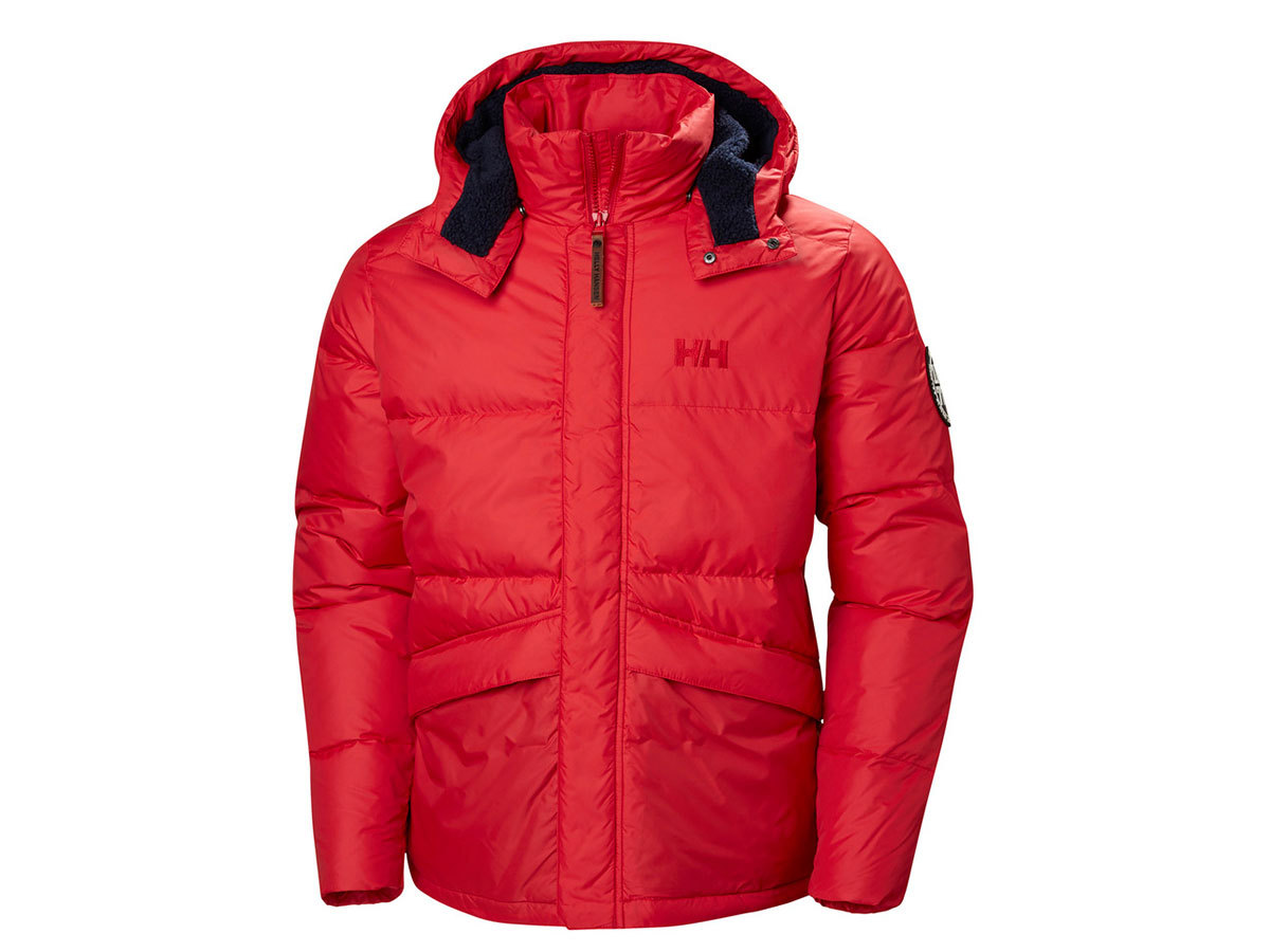 Helly Hansen 1877 DOWN JACKET - FLAG RED - L (53334_110-L )