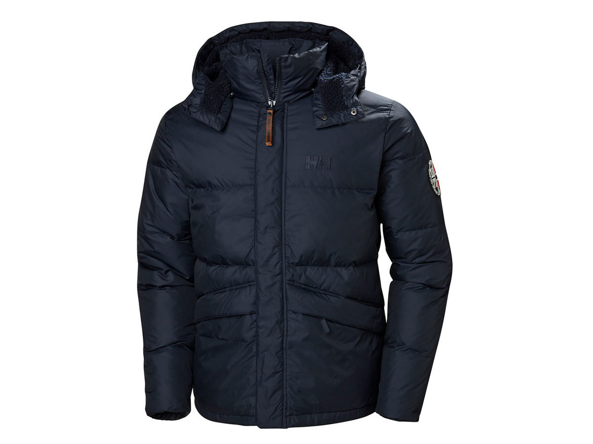 Helly Hansen 1877 DOWN JACKET - NAVY - L (53334_597-L )