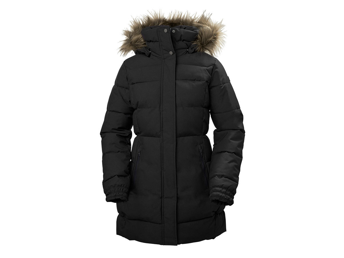 Helly Hansen W BLUME PUFFY PARKA - BLACK - L (54430_991-L )
