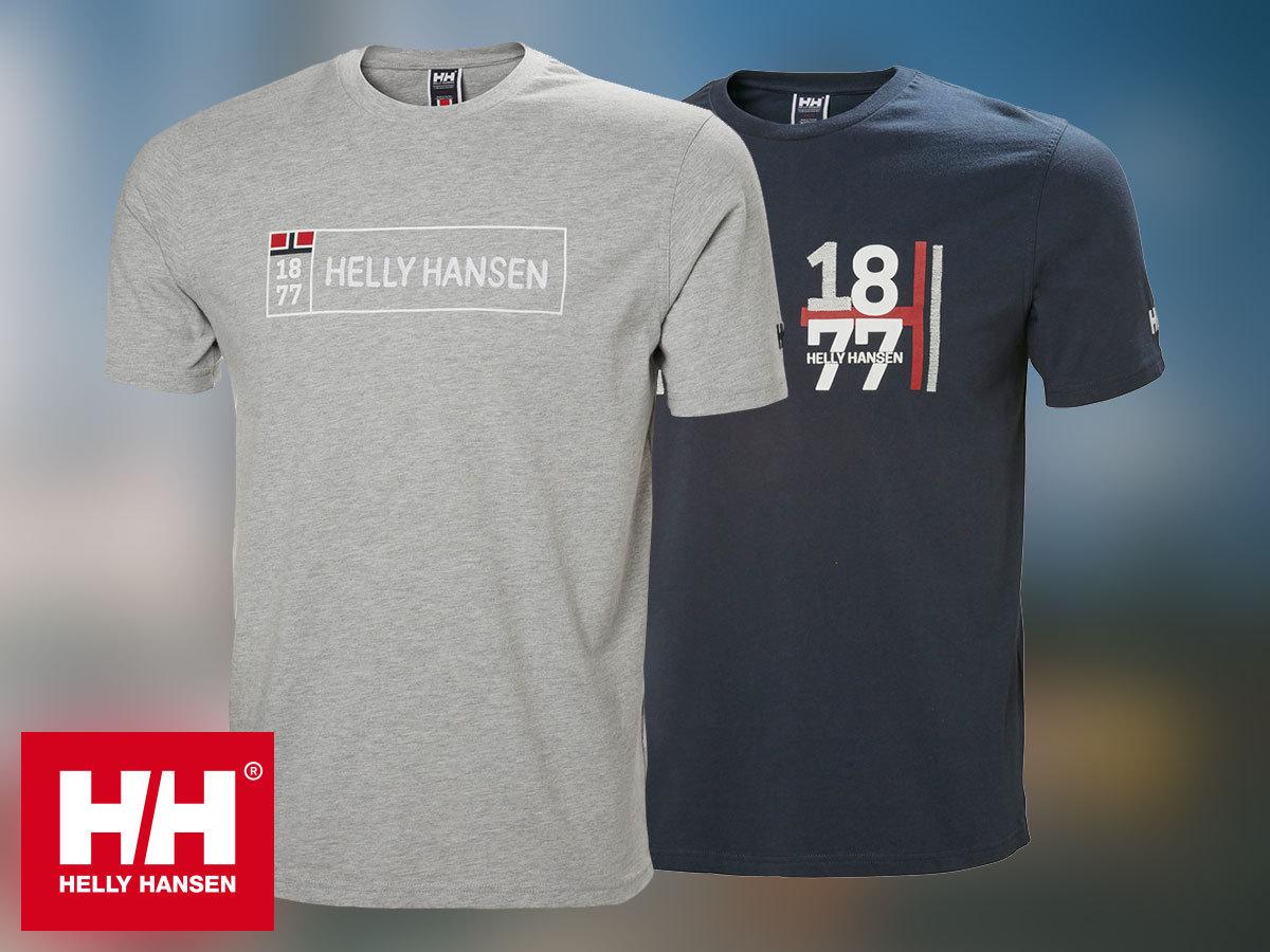 Helly Hansen HH NORSE T-SHIRT rövid ujjú férfi póló 100% pamut anyagból (S-XXL) 30% kedvezménnyel