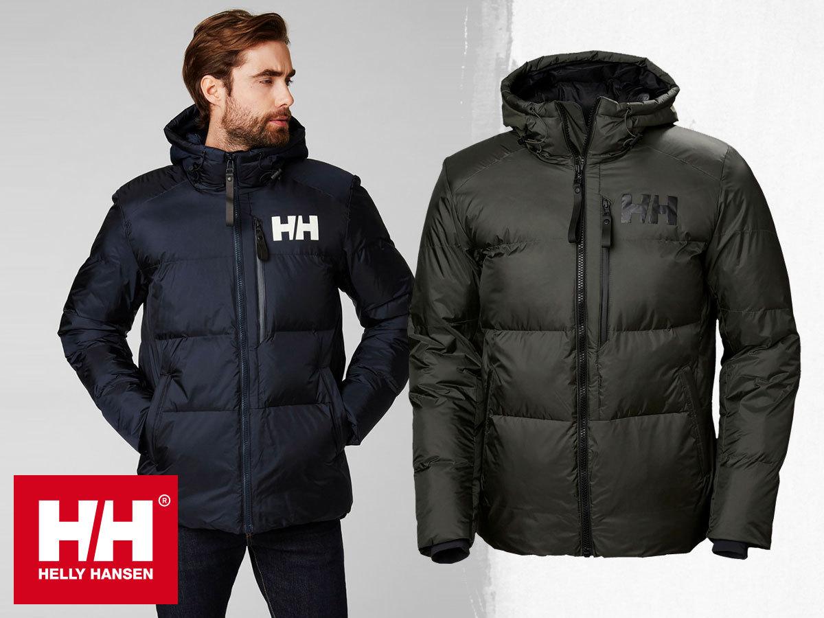 Helly Hansen ACTIVE WINTER PARKA férfi kabát, vízálló, szélálló és lélegző kialakítással, extra meleg szintetikus töltettel