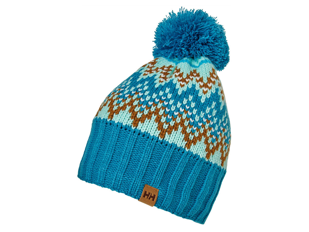 Helly Hansen W POWDER BEANIE - BLUE TINT - STD (67152_501-STD )
