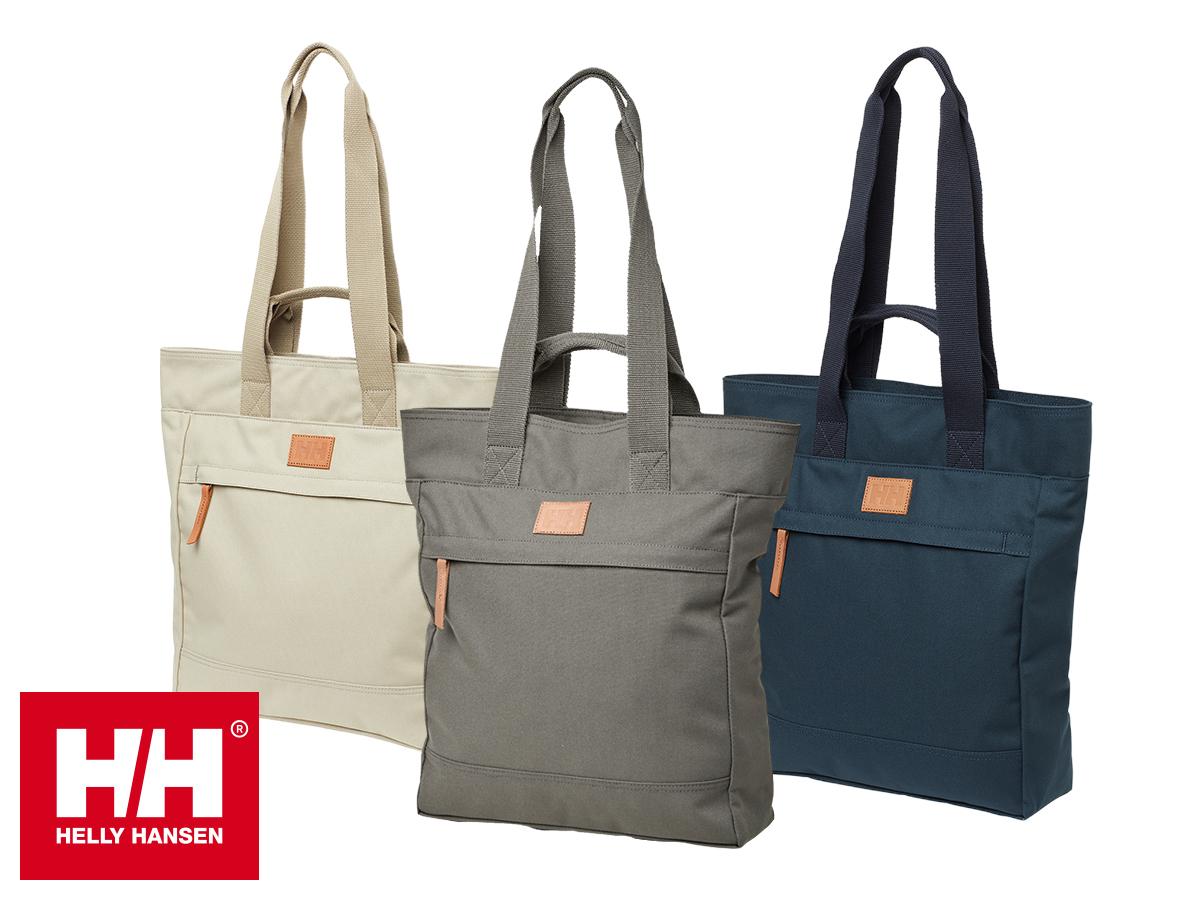 Helly Hansen COPENHAGEN TOTE női táska, mely hátizsákként is viselhető, és COPENHAGEN POUCH neszesszer